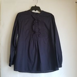 Merona Long Sleeve Shirt Top